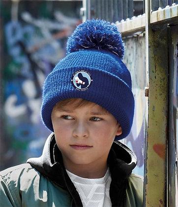 St Pauls Boxing Kids Reflective bobble beanie