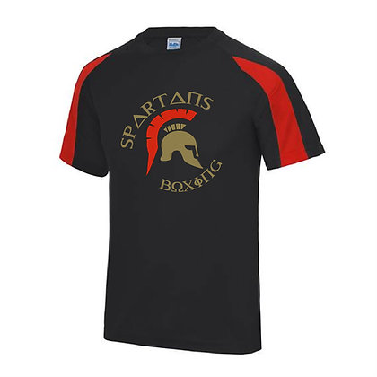 Spartan's Gym Men's Contrast T