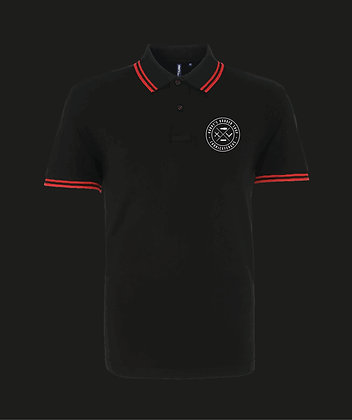 Harry's Barbershop Contrast Trim Polo
