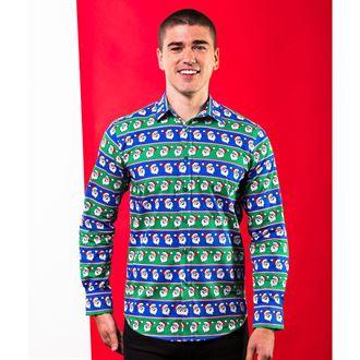 Printed Christmas Shirt