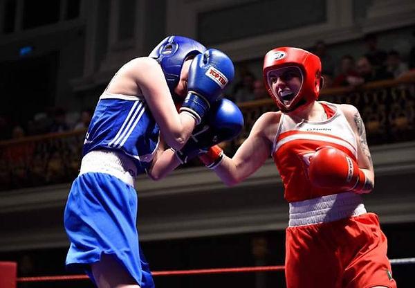 Kristina O'Hara, Fierce Ambassador, Belfast Boxer, Women's Boxing, Commonwealth