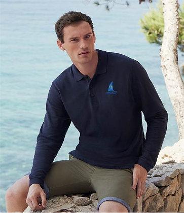 CAYC Men's Long Sleeve Polo