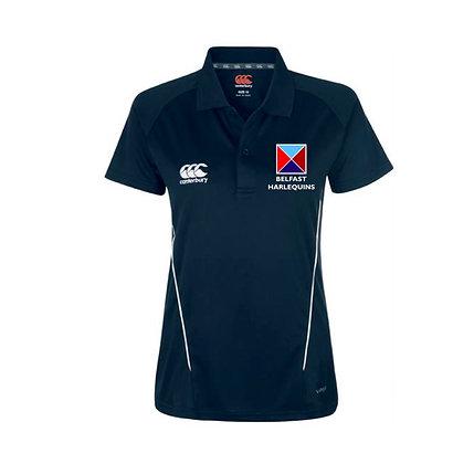 Belfast Harlequins Women's Team Dry Polo Shirt