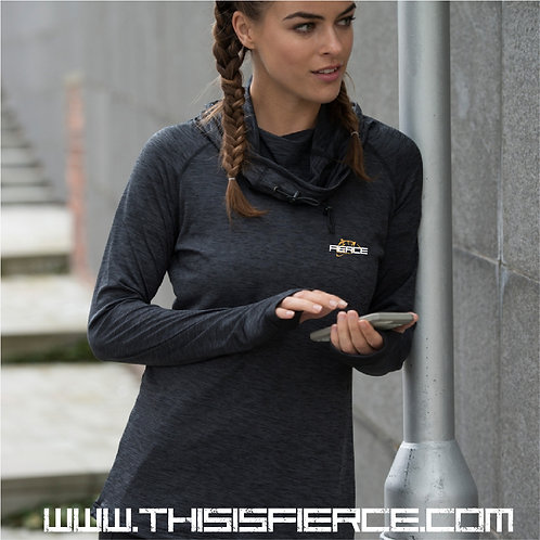 Fierce Fit Cowl Neck