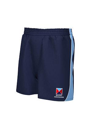 Belfast Harlequins Contrast Shorts