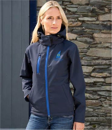 CAYC Women's Performance Softshell Hooded Jacket