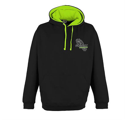 Forest Fitness Unisex Electric Contrast Hoodie