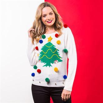 Women's Christmas Tree Jumper