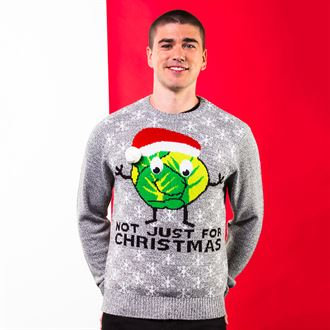 Adults Sprouts Not Just For Christmas jumper
