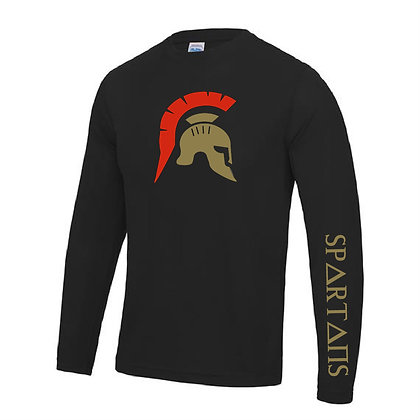 Spartan's Gym Men's Long Sleeve Crew