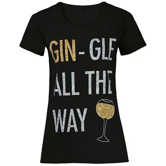 "Women's ""Gin-gle all the way"""