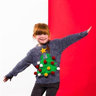 Kids 3D Christmas Jumper
