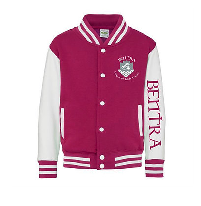 Bentra School of Irish Dance Varsity Jacket Full Sleeve