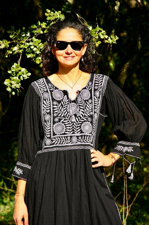Robe Carlita Noire et grise