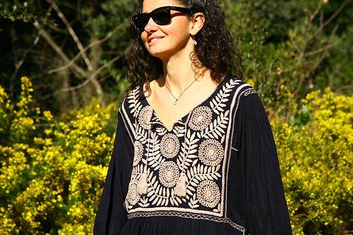 Robe Carlita beige clair