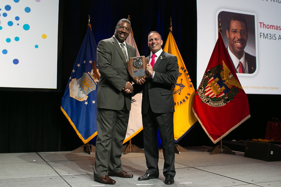 SVP Mitchell Receives SAME Annual Award