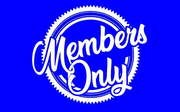 Member's Area Now Open