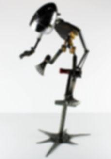 Accident Prone Sculpture by Artist Brett Mcdanel © Brett McDanel Sculpture