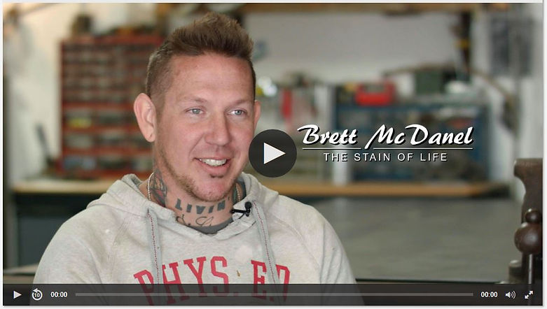 OETA/PBS Gallery America Coverage Brett McDanel: The Stain of Life   Episode 306
