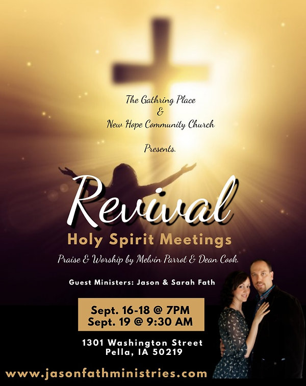 Pella Iowa - Homer McBeth - The Gathering Place - New Hope Community Church - Jason Fath M