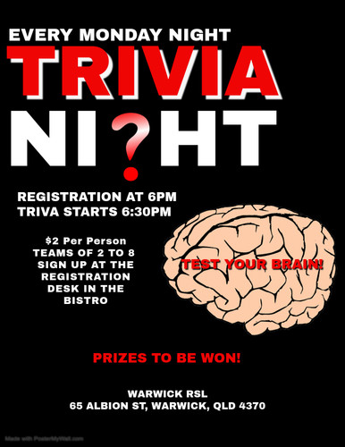 Copy of TRIVIA - Made with PosterMyWall.