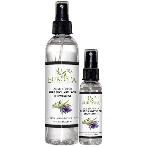 Lavender-infused Eucalyptus Oil Showermist