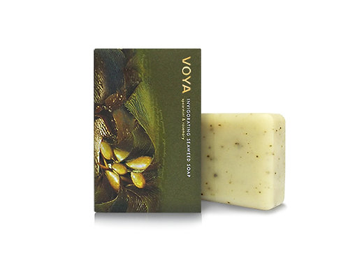 Voya Invigorating Seaweed Soap Bar - Spearmint & Rosemary