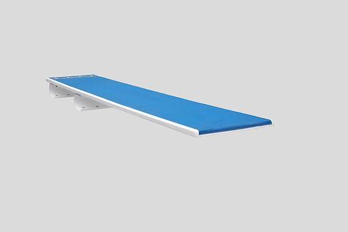 2,5 m Sprungbrett mit U-Federn