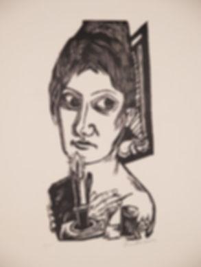 2 Henze- Beckmann 1920 5H h171 Frau mit
