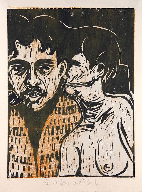 5 Henze- Kirchner 1907 5H D117 Maler und