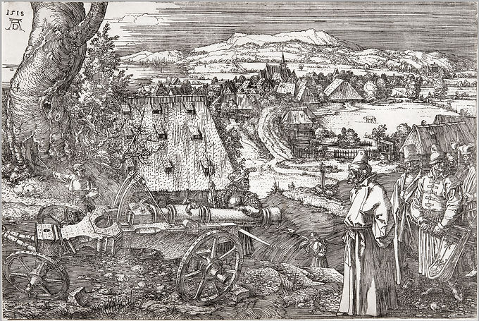 4_David_Tunick-_Dürer,_Landscape_with_
