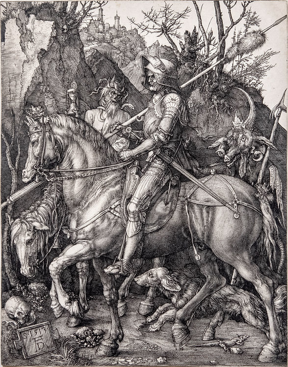 2 David Tunick- Durer, Knight, Death, an