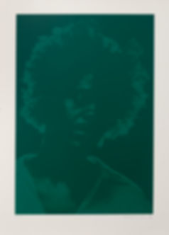 4 Brand X- Untitled (Tryptich) Green - J
