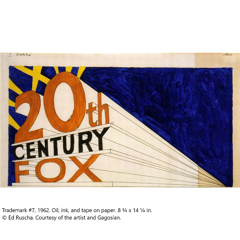PRIVATE TOUR - ED RUSCHA VERY: WORKS FROM THE UBS ART COLLECTION