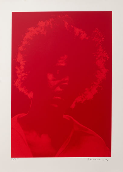 2 Brand X- LAH Untitled (Triptych) -Red