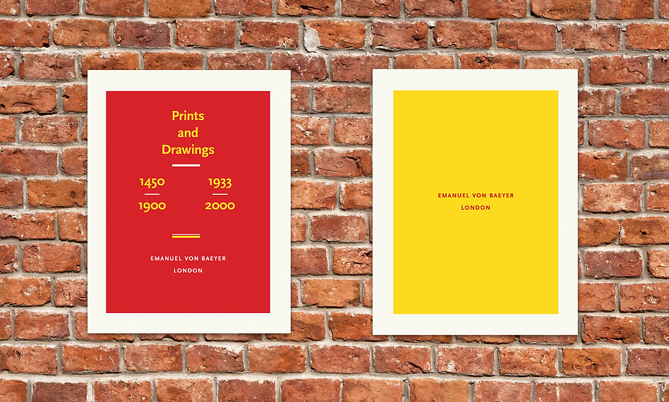 Prints & Drawings (Red) Catalogue brick.