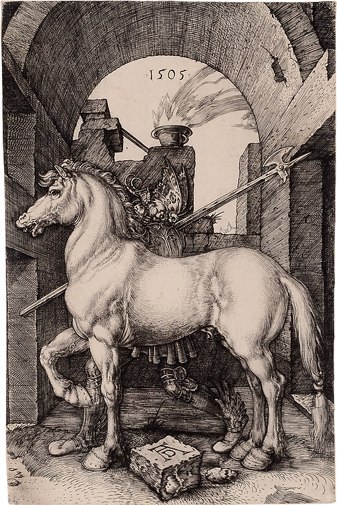6 David Tunick- Durer, Small Horse - Ken
