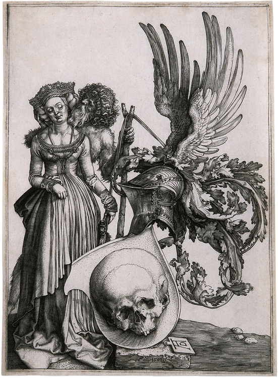 3_David_Tunick-_Dürer,_Coat_of_Arms_wi