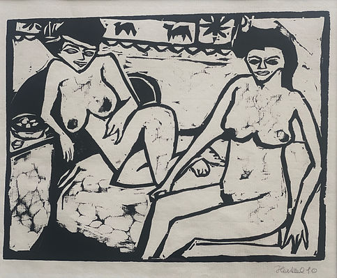 #5 Erich Heckel (Two women) - Alice Adam