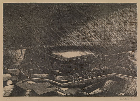 3 OSBORNE SAMUEL Paul Nash, Rain, Lake Z