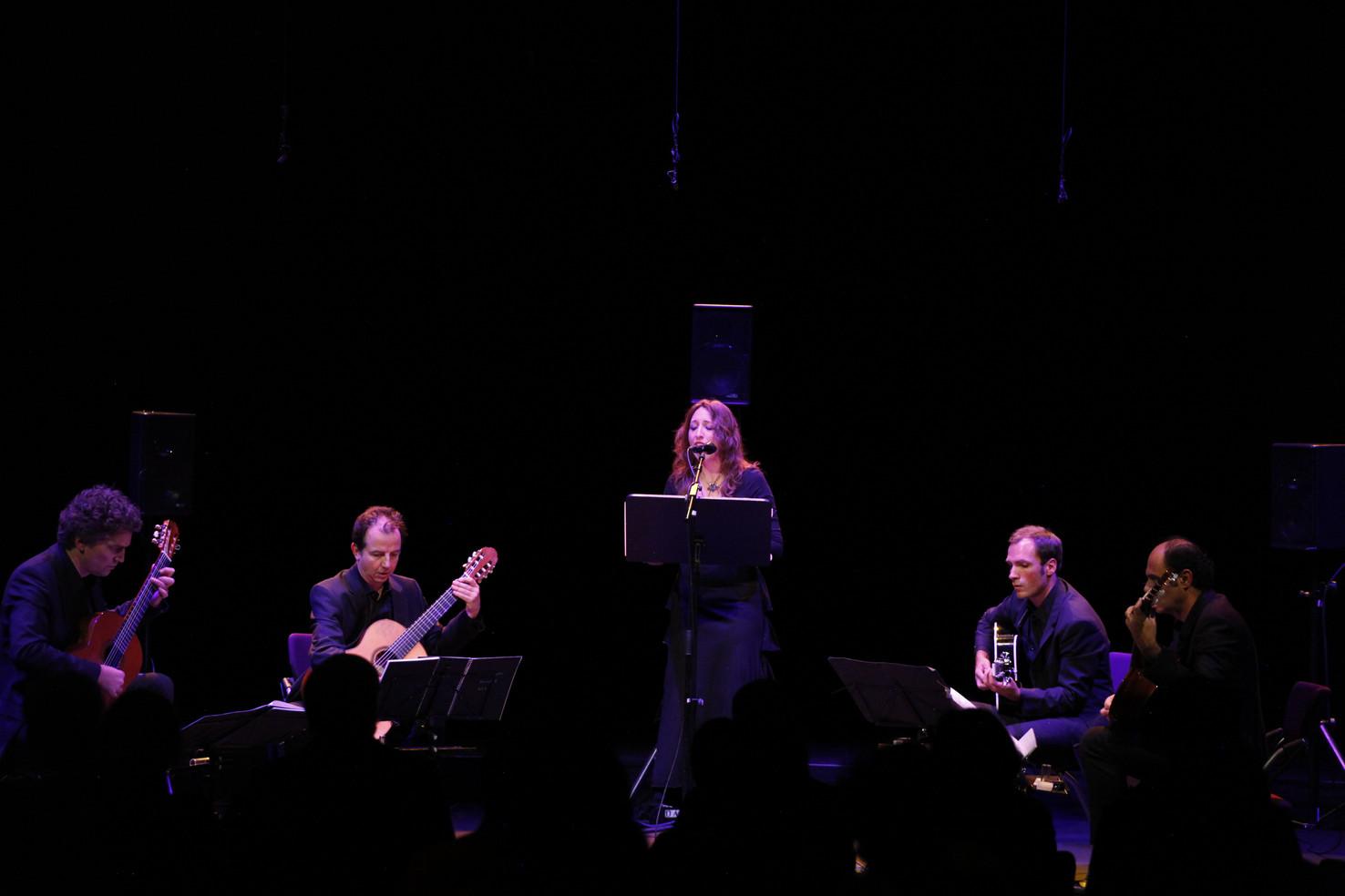 Graz Musikprotokoll Daisy Press & ALEPH Gitarrenquartett