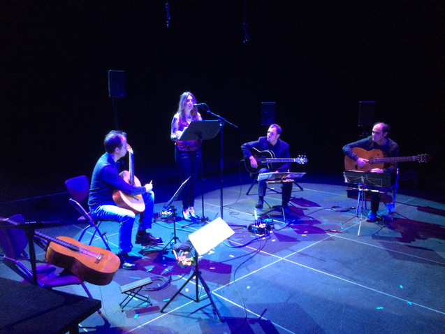 Graz Rehearsal Daisy Press & ALEPH Gitarrenquartett 2016