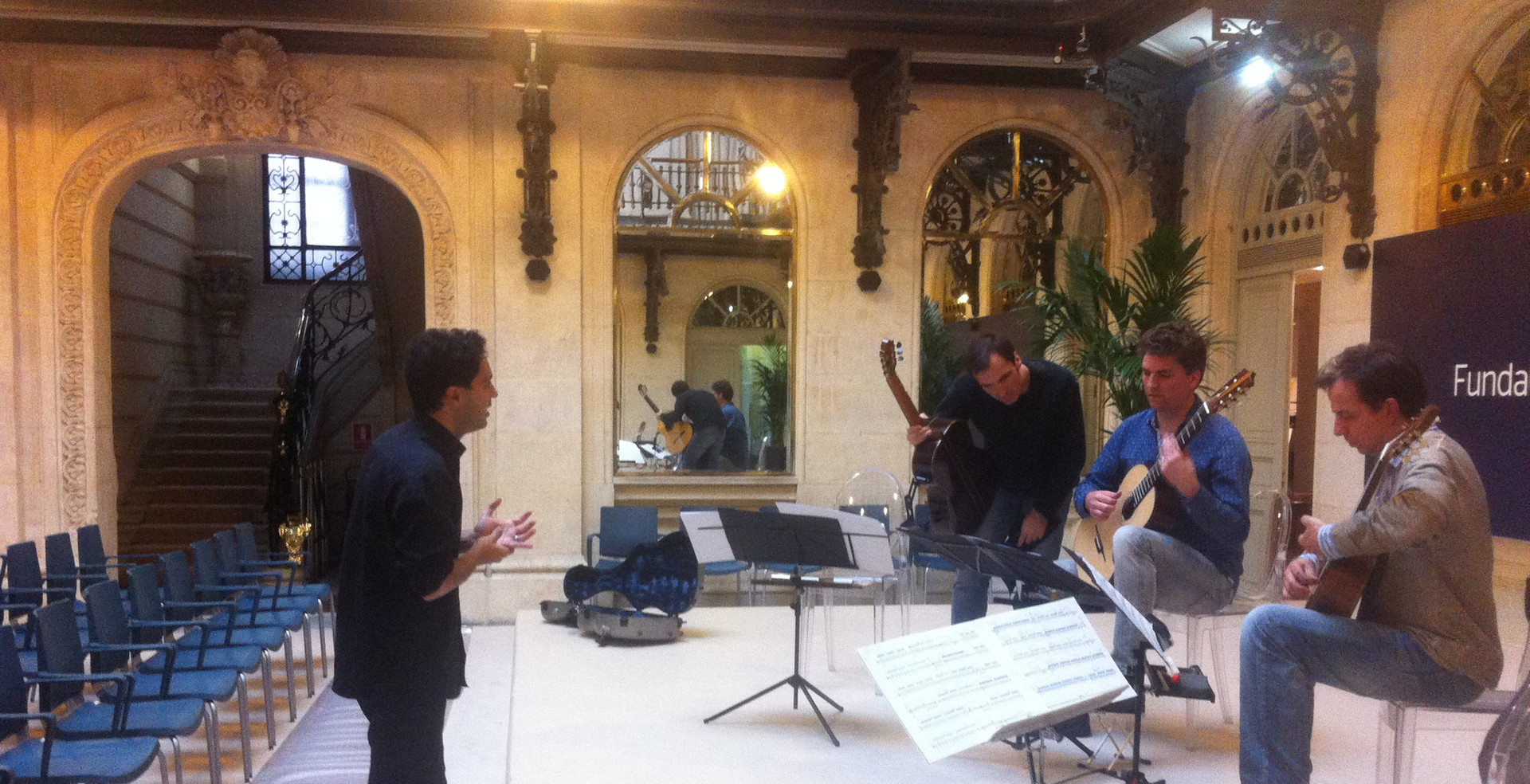 """Aurélio Edler rehearsal """"Pulso"""" Premiere  2014 Bilbao, Ciclo BBVA"""