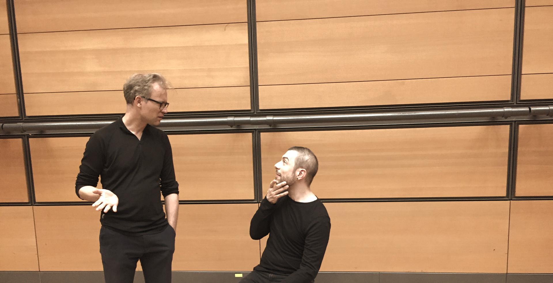 Sebastian Schottke and Marko Nikodijevic