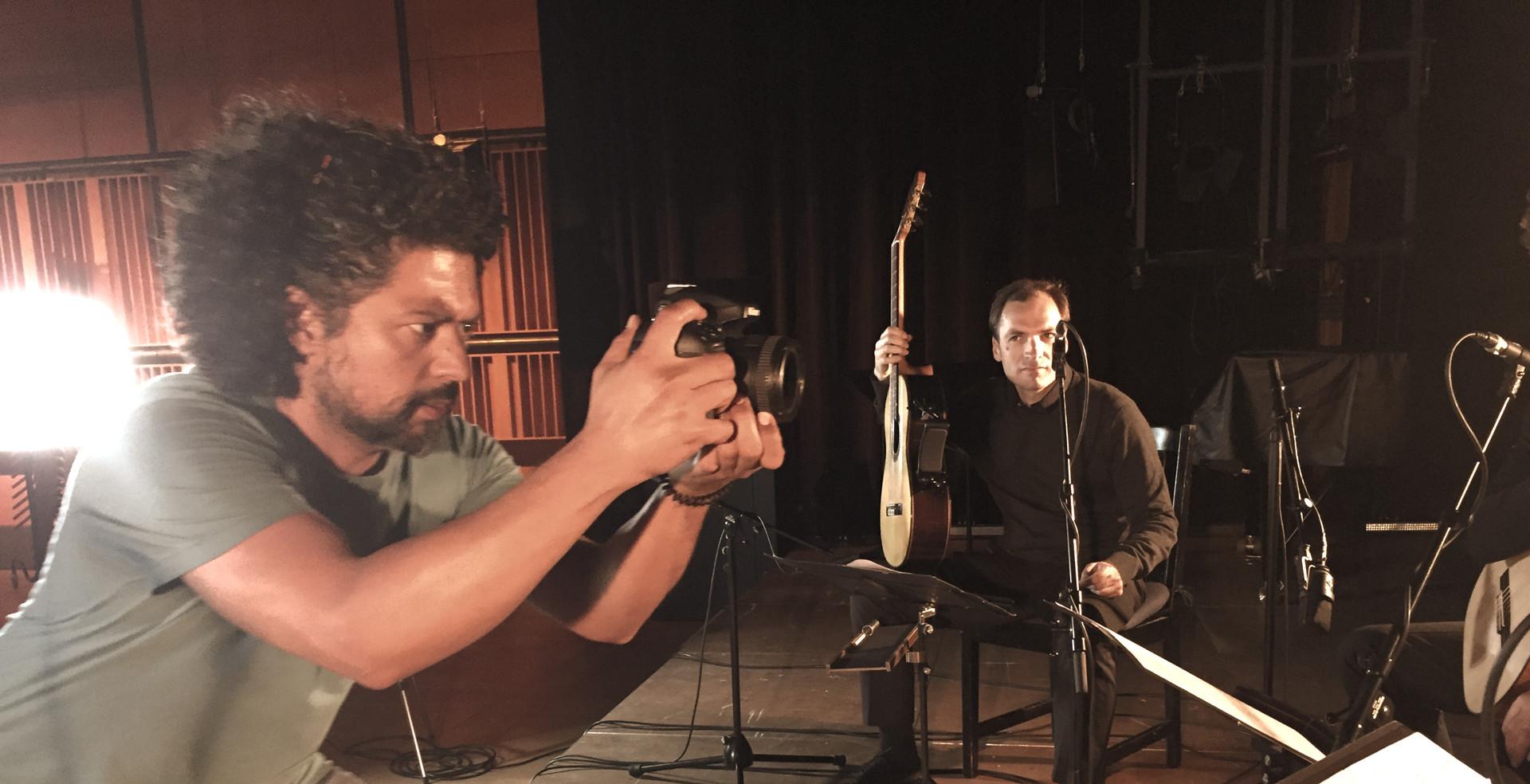 Arturo Fuentes and ALEPH Gitarrenquartet