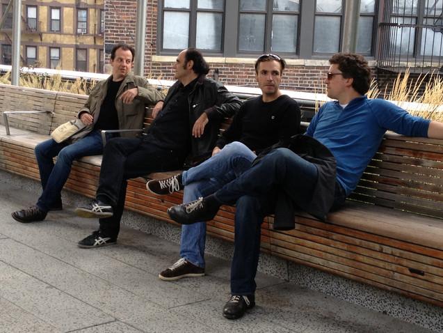 New York Highline ALEPH Gitarrenquartett 2013