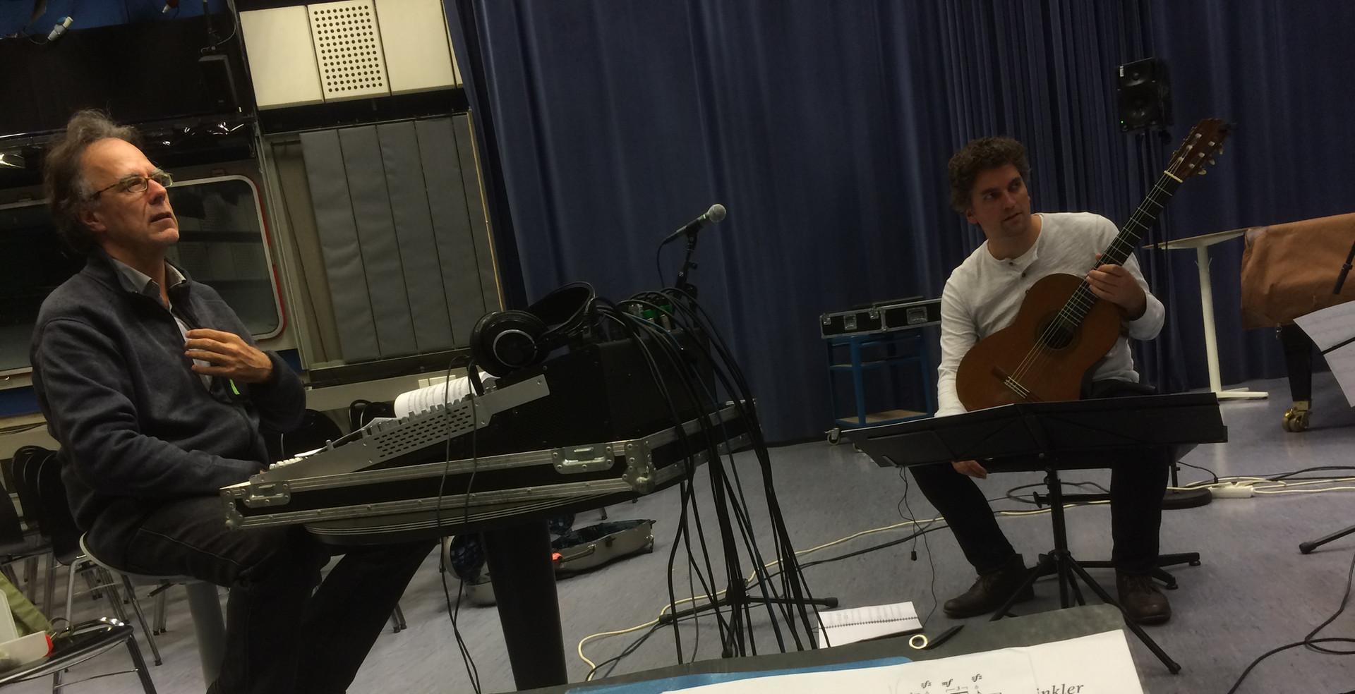 "Gerhard E. Winkler ""Anamorph IX (Frostblues zur Winterreise)""rehearsel ORF 2016"