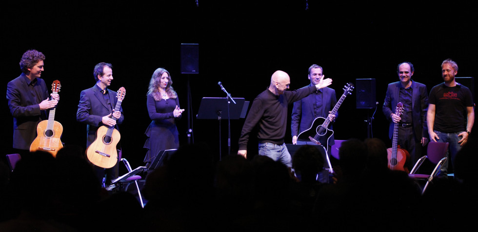 "Bernhard Lang ""The Cold Trip pt. I (for voice and four guitars)"" Musikprotokoll im steirischer herbst"