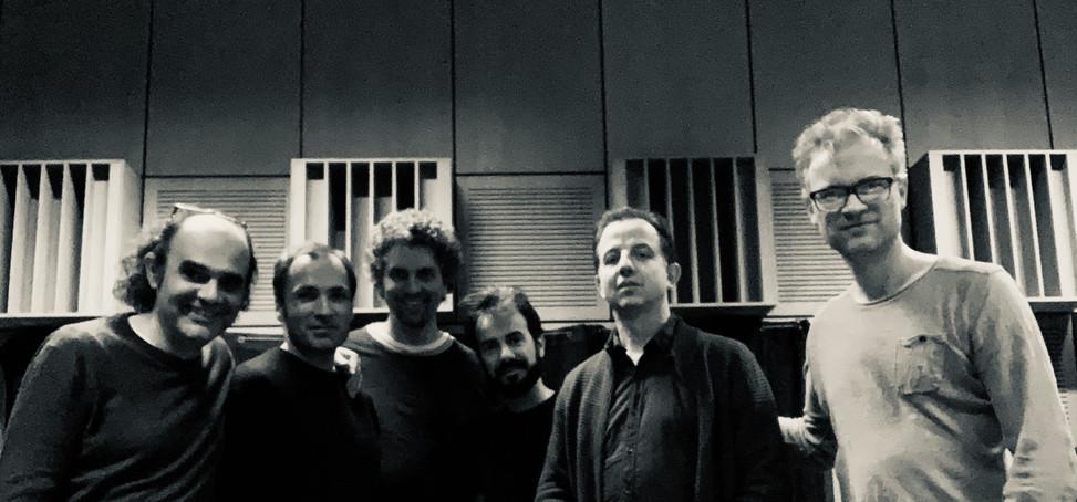"Jaime Reis and Sebastian Schottke recording ""Fluxus, Schubkraft - Vortex"" at ZKM"