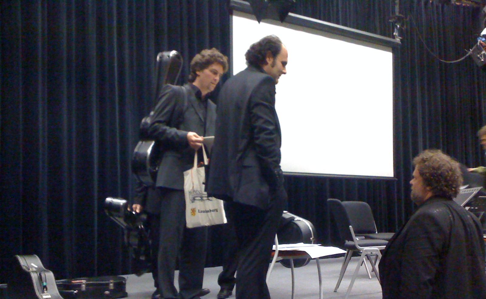 """Jens Joneleit premiere """"Spuren"""" Innsbruck ORF KLANGSPUREN SCHWAZ 2011"""